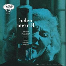 ヘレン・メリル / ヘレン・メリル・ウィズ・クリフォード・ブラウン 200g重量盤 LP【KK9N0D18P】