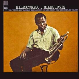 10/20発売予定 Miles Davis マイルス・デイヴィス / Milestones マイルストーンズ【完全生産限定盤】MONO180g重量盤アナログレコード LP【KK9N018P】