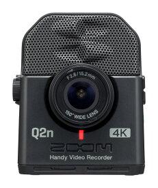 【在庫あり】ZOOM Q2n-4K ズーム ハンディーレコーダー ハンディーカメラ