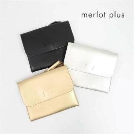 merlot plus メルロー プリュス ステッチ2WAY クラッチバッグ 2170 レディース ショルダーバッグ パーティー 結婚式 二次会 発表会