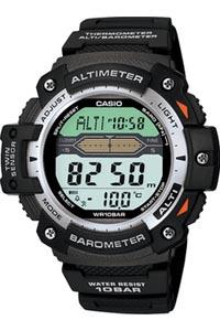 カシオ スポーツウォッチ 10気圧防水 メンズ デジタル 腕時計 ブラック 黒(SPR10JL01BLK)気圧計 高度計 温度計 LEDライト付き 登山 時計 1/100秒ストップウォッチ タイマー ランニングウォッチ カシオ CASIO トレッキング アウトドア 登山用品