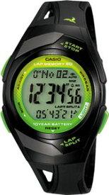 カシオ スポーツウォッチ 5気圧防水 メンズ レディース デジタル 腕時計 (PH10DC01BKGR) 距離計測機能 60ラップ ストップウォッチ カウントダウンタイマー 10年電池 LEDライト付き ランニングウォッチ カシオ CASIO ランナーズ マラソン ランニング 時計