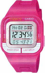 カシオ スポーツウォッチ 5気圧防水 レディース デジタル 腕時計(SD11FBP-204PNK)チープカシオ チプカシ 距離計測機能 ストップウォッチ 60ラップ 10年電池 LEDライト付き ランニングウォッチ カシオ CASIO 海外限定 マラソン ランニング 時計