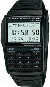 カシオ データバンク スポーツウォッチ デジタル 腕時計(DBC-32-1A)ランニングウォッチ 1/100秒ストップウォッチ 10年電池 LEDライト付き CASIO DATABANK 海外限定 マラソン ランニング 時計 デジタル ランナー ウォッチ