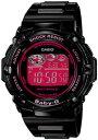 【送料無料】カシオ BABY-G 電波時計 スポーツウォッチ 20気圧防水 デジタル ソーラー電波 腕時計 ブラック 黒(BGR-3003-1BJF)電波ソーラー 1/100秒ストップウォッチ ワール