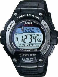 カシオ スポーツウォッチ 10気圧防水 ソーラー メンズ デジタル 腕時計(WSD11AUP-302)120ラップ ストップウォッチ LEDライト付き ソーラー ランニングウォッチ カシオ CASIO 海外限定 マラソン ランニング 時計 ランナー ウォッチ