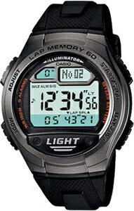 カシオ スポーツウォッチ 10気圧防水 デジタル 腕時計(WSD11AUP-402) LEDライト付き 1/100秒ストップウォッチ 60ラップ 10年電池 ランニングウォッチ CASIO 海外限定 マラソン ランニング 時計 ランナー ウォッチ ランニングウォッチ