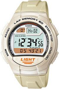 カシオ スポーツウォッチ 10気圧防水 デジタル 腕時計 1/100秒ストップウォッチ 60ラップ 10年電池 距離計測機能 LEDライト付き(WSD11AUP-404WHT)ランニングウォッチ カシオ CASIO ランナーズ マラソン ランニング 時計 ランナー ウォッチ