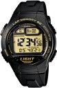カシオ スポーツウォッチ 10気圧防水 メンズ デジタル ランニングウォッチ 腕時計 ブラック 黒 (WSD11AUP-405海外版) …