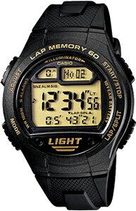 カシオ スポーツウォッチ 10気圧防水 メンズ デジタル ランニングウォッチ カシオ 腕時計 ブラック 黒 (WSD11AUP-405海外版) 距離計測機能 ストップウォッチ カウントダウンタイマー 60ラップ LED