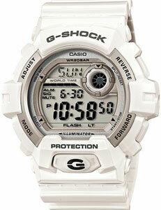 カシオ Gショック G-SHOCK スポーツウォッチ 20気圧防水 メンズ デジタル 腕時計 g-shock ホワイト 白(G-8900A-7JF) 1/100秒ストップウォッチ ワールドタイム LEDライト付き ランニングウォッチ カシオ CASIO マラソン ランニング ウォッチ 時計