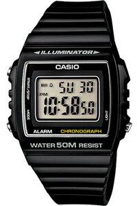 カシオ スポーツウォッチ 5気圧防水 メンズ デジタル 腕時計 ブラック 黒(W13MYP-101BLK)ストップウォッチ LEDライト付き ランニングウォッチ カシオ CASIO 海外限定 ランナーズウォッチ マラソン ランニング 時計 ランナー ウォッチ