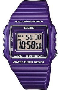 カシオ スポーツウォッチ 5気圧防水 メンズ デジタル 腕時計 おしゃれな バイオレット 紫 (W13MYP-104VLT) ストップウォッチ 日付 曜日 カレンダー アラーム LEDライト付き ランニングウォッチ CASI