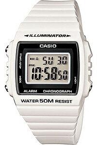 カシオ スポーツウォッチ 5気圧防水 デジタル 腕時計 ホワイト 白(W13MYP-105WHT)ランニングウォッチ デジタル カレンダー 1/100秒ストップウォッチ LEDライト付き カシオ CASIO 海外限定 マラソン ランニング ウォッチ 時計