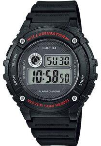 カシオ スポーツウォッチ ランニングウォッチ 5気圧防水 メンズ デジタル 腕時計 おしゃれな ブラック 黒 (W14JLP-901BKBK) ストップウォッチ LED ライト付き 海外限定 日本未発売 CASIO マラソン ラ