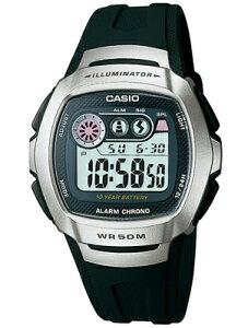 カシオ スポーツウォッチ 5気圧防水 メンズ デジタル 腕時計 (W13P-3505) 1/100秒 ストップウォッチ 10年電池 LEDライト付き ランニングウォッチ カシオ CASIO 海外限定 ランナーズウォッチ マラソン