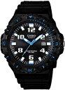 【送料無料】カシオ スポーツウォッチ 10気圧防水 ソーラー メンズ アナログ 腕時計 ダイバーズ(MW14FBP-401BKBL)方…