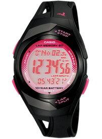 カシオ スポーツウォッチ 5気圧防水 メンズ レディース デジタル 腕時計 (PH10DC02BKPK) ブラック 黒 10年電池 距離計測機能 60ラップ ストップウォッチ カウントダウンタイマー LED ライト付き ランニングウォッチ カシオ CASIO マラソン ランニング 時計