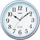 カシオ 電波時計 壁掛け時計 アナログ 掛け時計 おしゃれな シルバー 銀 ケース (CL15JU59) 見やすい アラビア数字 ホ…