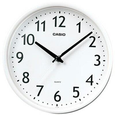 カシオ スタンダード 壁掛け時計 アナログ 掛け時計 アラビア数字 ホワイト 白(SCL16MA12WHT)カシオ CASIO 掛け時計