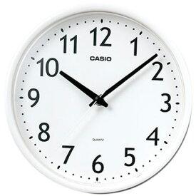 カシオ 壁掛け時計 アナログ 掛け時計 コンパクト おしゃれな ホワイト 白 (SCL16MA12) シンプル 見やすい アラビア数字 3針 ANALOG WALL CLOCK 小型 掛時計 ウォールクロック