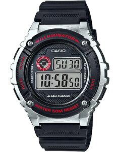 カシオ デジタル スポーツウォッチ メンズ 5気圧防水 ランニングウォッチ 腕時計 ブラック 黒 (WH16APP-101BLK) アラーム ストップウォッチ LEDライト付き CASIO 海外限定 日本未発売 マラソン ラン