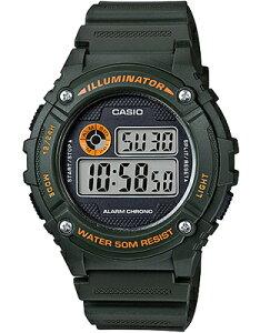 カシオ スポーツウォッチ 5気圧防水 メンズ デジタル 腕時計 グリーン 緑 (WH16APP-103GRN) アラーム ストップウォッチ LEDライト付き ランニングウォッチ CASIO 海外限定 日本未発売 マラソン ラン