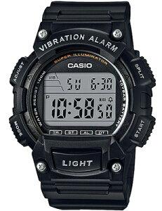 カシオ スポーツウォッチ 10気圧防水 メンズ デジタル 腕時計 ブラック 黒 (WH16JLP-101BLK) バイブ 振動アラーム ストップウォッチ カウントダウンタイマー LEDライト付き ランニングウォッチ CASI