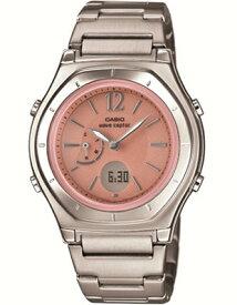 d3578d016a カシオ 電波時計 スポーツウォッチ 5気圧防水 レディース デジタル アナログ ソーラー電波 腕時計(WV15JL04PNK