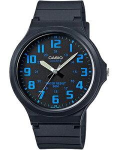 カシオ スポーツウォッチ メンズ 5気圧防水 アナログ 腕時計 ブラック 黒(SDM16JAP-303BKBU)ブルー 青 アラビア数字 24時間表示 ランニングウォッチ CASIO 海外限定 マラソン ランニング 時計 ア