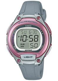 カシオ デジタル スポーツウォッチ 5気圧防水 レディース 腕時計 かわいい ピンク (SD17OC07PNK) アラーム カレンダー ストップウォッチ 10年電池 LED ライト付き ランニングウォッチ カシオ CASIO マラソン ランニング 時計 ランニングウオッチ
