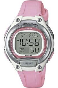 カシオ スポーツウォッチ 5気圧防水 レディース デジタル 腕時計 かわいい ピンク (SD17OC77KAG海外版) アラーム カレンダー ストップウォッチ 10年電池 LED ライト付き ランニングウォッチ カシ