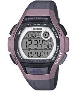 カシオ スポーツウォッチ 10気圧防水 レディース デジタル 腕時計 ピンク (LSD19FB06KAG) 海外版 歩数計測機能 200ラップ ストップウォッチ カウントダウンタイマー LED ライト付き ランニングウォ