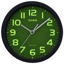 カシオ 電波時計 壁掛け時計 電波 小型 アナログ 掛け時計 音がしない 秒針停止機能 おしゃれな ブラック 黒 (CL19AP01BLK) 夜間 見やすい 集光文字盤 アラビア数字 蓄光 夜光時計 CASIO 置き時計 になるスタンド付き 電波掛け時計 静かな ウォールクロック