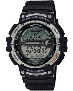 カシオ スポーツウォッチ 10気圧防水 メンズ デジタル 腕時計 文字盤 見やすい フィッシングギア (SD20JL01) 月齢 ムーンデータ表示 ストップウォッチ カウントダウンタイマー LEDライト付き 魚