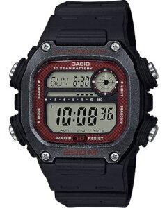 カシオ スポーツウォッチ 20気圧防水 メンズ デジタル 腕時計 文字盤 見やすい ダイバーズ (DSD20AU06) ストップウォッチ カウントダウンタイマー 10年電池 LED ライト付き ランニングウォッチ カ