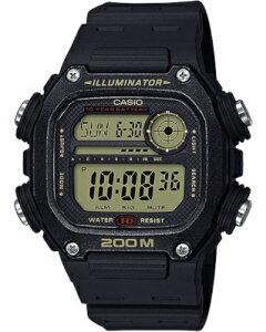 カシオ スポーツウォッチ 20気圧防水 メンズ デジタル 腕時計 文字盤 見やすい ダイバーズ (DSD20AU07) ストップウォッチ カウントダウンタイマー 10年電池 LED ライト付き ランニングウォッチ カ