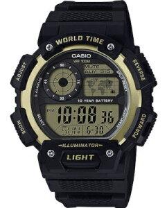 カシオ スポーツウォッチ 10気圧防水 メンズ デジタル 腕時計 ストップウォッチ カウントダウンタイマー (ASD20AU02BKGD) ワールドタイム アラーム カレンダー LED ライト付き ランニングウォッチ