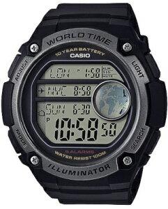 カシオ スポーツウォッチ 10気圧防水 メンズ デジタル 腕時計 ストップウォッチ カウントダウンタイマー (ASD20AU03) アラーム カレンダー 10年電池 LED ライト付き ランニングウォッチ カシオ 海