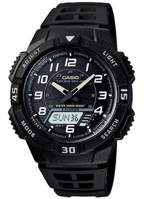 カシオ スポーツウォッチ 10気圧防水 ソーラー デジタル アナログ 腕時計(SD11OC03B) ストップウォッチ カウントダウンタイマー アラーム カレンダー LEDライト付き ランニングウォッチ カシオ CASIO マラソン ランニング ウォッチ 時計