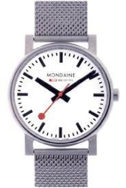 モンディーン エヴォ・メンズ アナログ 腕時計 スタンダード 3針 クォーツ(A658.30300.11SBV)ベーシック MONDAINE MENS ANALOG おしゃれな STANDARD BASIC WATCH カジュアル ドレス 腕時計