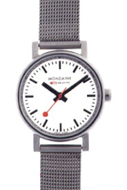 モンディーン エヴォ・レディース アナログ 腕時計 スタンダード 3針 クォーツ(A658.30301.11SBV)ベーシック MONDAINE LADYS ANALOG おしゃれな STANDARD BASIC WATCH カジュアル ドレス 腕時計