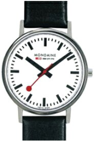 モンディーン ニュークラシック 日常生活 3気圧防水 メンズ アナログ 腕時計 ホワイト 白 ダイアル 3針 クォーツ(A660.30314.11SBB)ブラック 黒 本革 レザー 革バンド MONDAINE MENS ANALOG おしゃれな カジュアル ドレス ウォッチ 腕時計