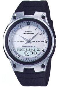カシオ スポーツウォッチ 5気圧防水 デジタル アナログ 腕時計(SD8OC41)ワールドタイム ストップウォッチ カウントダウンタイマー 10年電池 LEDライト付き ランニングウォッチ カシオ CASIO マラソン ランニング ウォッチ 時計