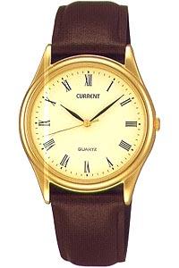 セイコー 日常生活防水 メンズ アナログ 腕時計 ゴールド 金(SK8DC41BRGD)ローマ数字 ブラウン 茶 レザー 革ベルト 合成皮革バンド SEIKO MENS ANALOG おしゃれな 時計 ドレスウォッチ 腕時計