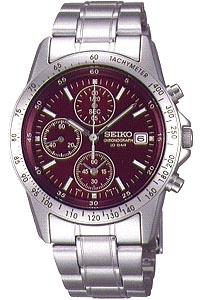 セイコー スピリット限定モデル スポーツウォッチ 10気圧防水 メンズ アナログ 腕時計 ダイバーズ(SBTQ045)スクリューバック ストップウォッチ タキメーター 日付 カレンダー ルミブライト付き マラソン ランニング 時計 ダイバーズウォッチ