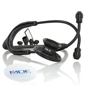 MDF聴診器 MDF747XPBO(ブラックアウト) コストパフォーマンスに優れた軽量モデル
