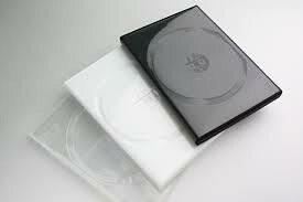 DVDトールケース白(1枚組・白) 1000枚単価\28