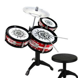 子供用 ミニドラムセット ドラマーごっこ バンドごっこ ドラムセット 楽器 3ドラム 小シンバル ドラムスティック 子供 キッズ プレゼント 景品 ギフト お祝い