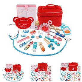 おもちゃ 医者セットおもちゃ 医療キットおもちゃ 誕生日プレゼント 出産祝い お医者さんごっこ  ケース付